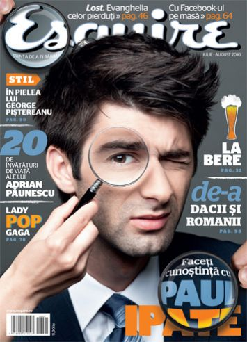 Esquire Romania ~~ Iulie-August 2010