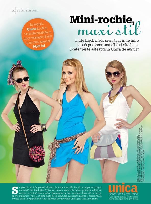Promo rochia de vara cu spatele gol ~~ Unica ~~ August 2010