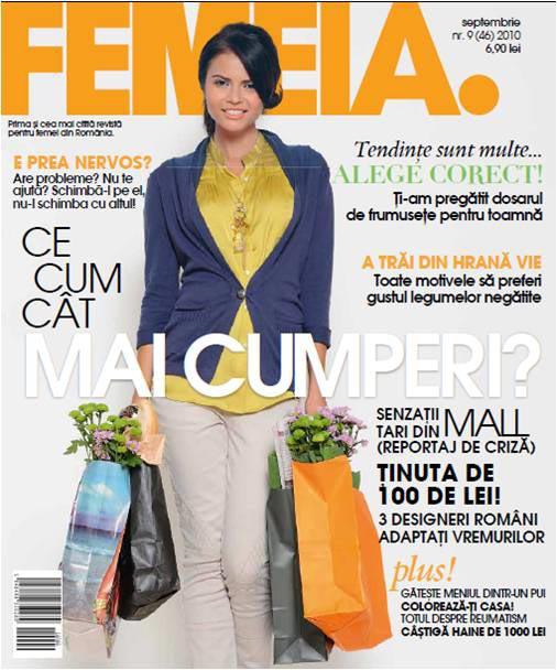 FEMEIA. ~~ Septembrie 2010