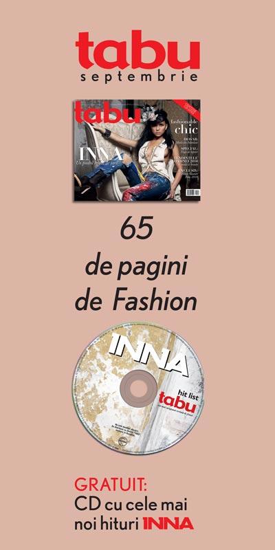 Tabu ~~ Promo coperta si CD Inna ~~ Septembrie 2010
