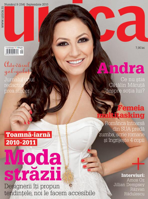 Unica ~~ Coperta: Andra ~~ Septembrie 2010
