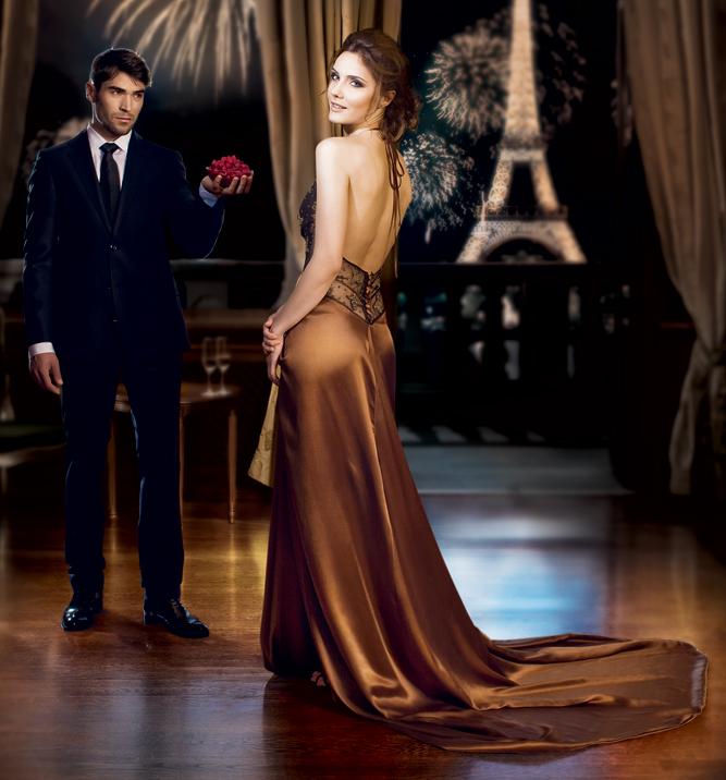 Rochia Seduisante ~~ Promotie balsam de rufe Lenor Parfumelle ~~ 1 noiembrie - 10 decembrie 2010
