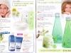 Brosura Yves Rocher: Naturalete, frumusete si Stralucire ~~ produse pentru ingrijirea tenului (paginile 4-5)