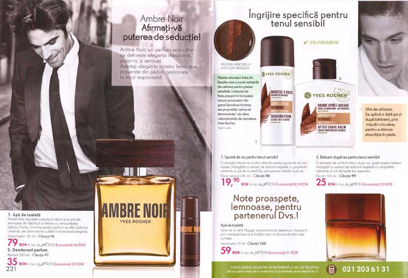Catalog Yves Rocher France ~~ Energia vegetala pentru frumusetea Dvs.! ~~ Produse pentru barbati ~~ Primavara 2014