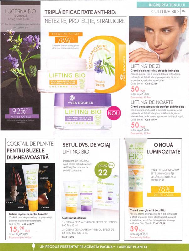Yves Rocher ~~ Revista Frumusetii Toamna - Iarna 2011-2012 ~~ Pagina 7