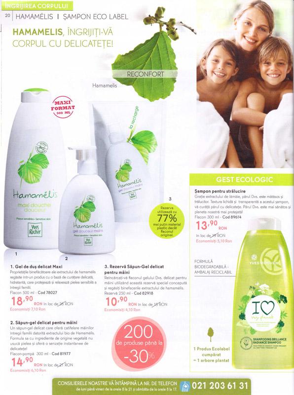 Yves Rocher ~~ Revista Frumusetii Toamna - Iarna 2011-2012 ~~ Pagina 20