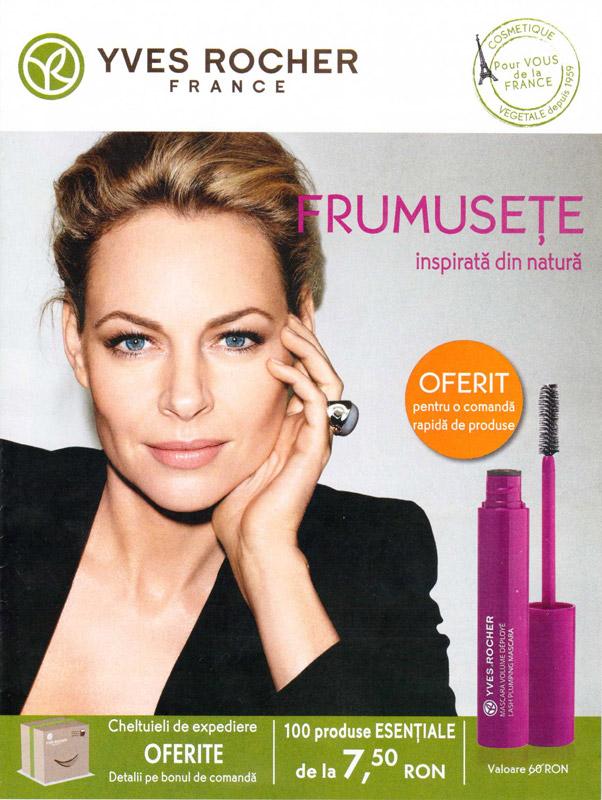 Brosura Yves Rocher France ~~ Frumusete inspirata din natura ~~ Septembrie-Noiembrie 2013