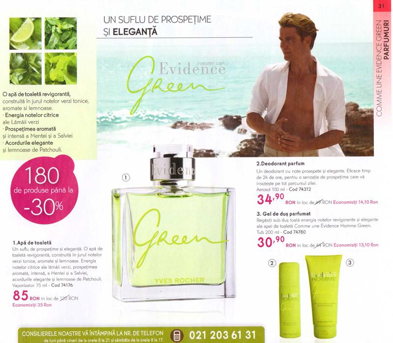 Yves Rocher ~~ Revista Frumusetii ~~ Primavara-Vara 2012 ~~ Pentru barbati