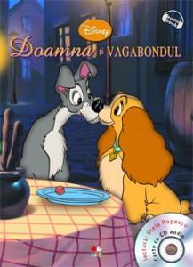 Doamna si vagabondul, colectia Disney Audio Book de la editura Litera