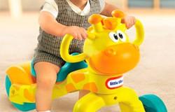 Noriel: Little Tikes Tricicleta Lil Girafa