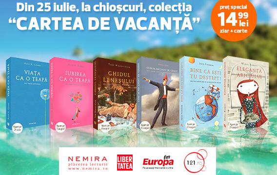 Colectia CARTEA DE VACANTA 2014, de la Nemira si Libertatea