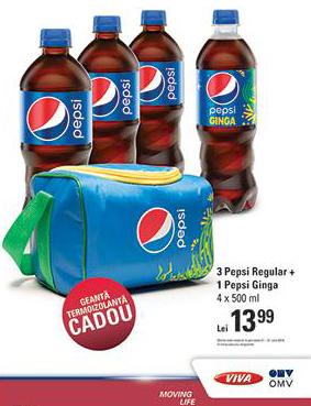 Geanta termoizolanta Pepsi, oferta cadou 2014