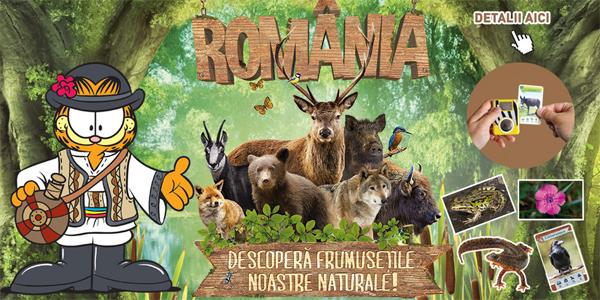 Penny Market si Garfield prezinta frumusetile naturii din Romania