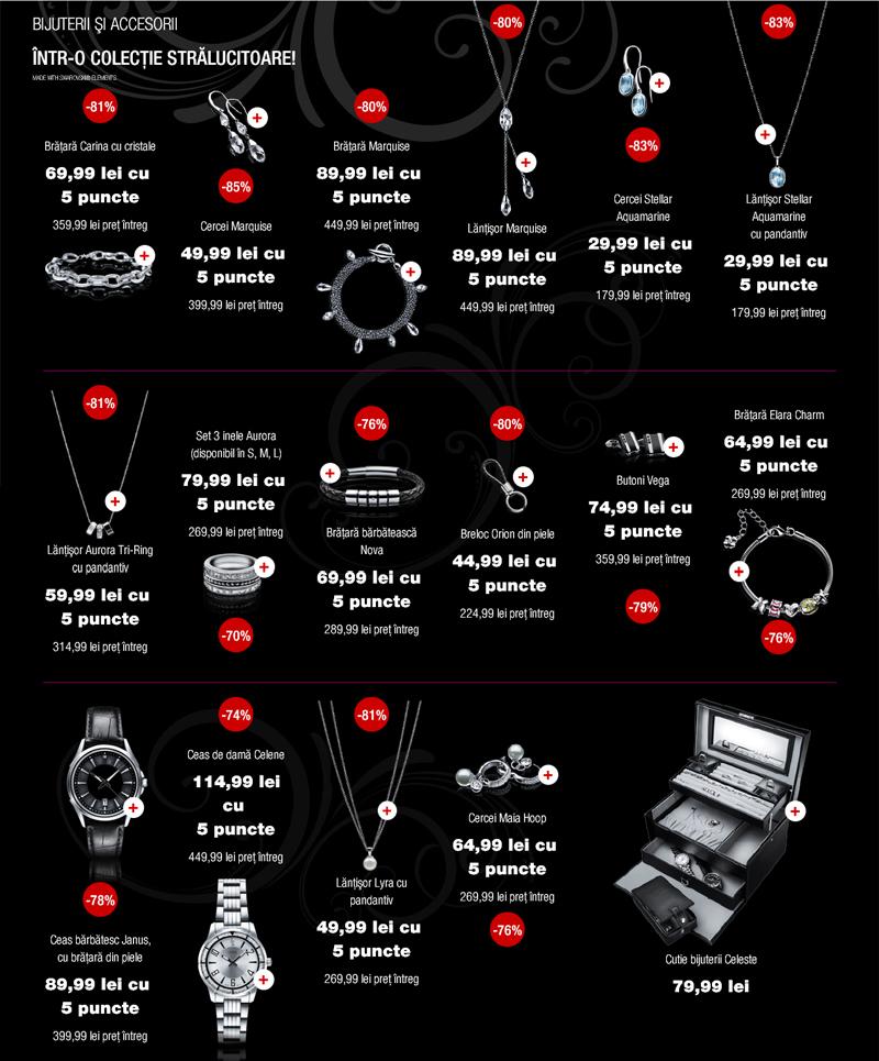 reduceri la bijuterii si accesorii Liora la Carrefour