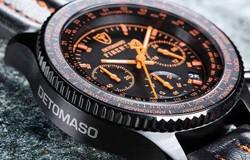 Caut Ceas Detomaso Firenze Black Orange