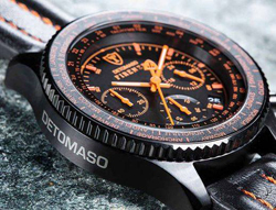 Caut Ceas Detomaso Firenze Black Orange