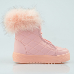 Cizme dama roz pal Delphina (50 lei)