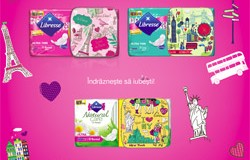 Colectia de 5 cutiute pentru absorbante Libresse: Journey of Love [2015]