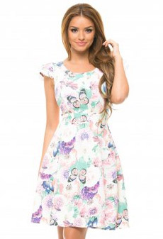 Rochie StarShinerS Happy White