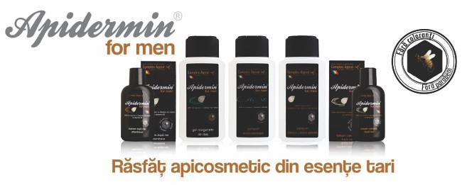 Gama noua de produse cosmetice Apidermin for Men, 2015