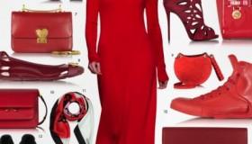 Genti, pantofi si accesorii rosii