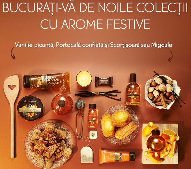 Editiile limitate de cosmetice Yves Rocher pentru sarbatorile de iarna 2015
