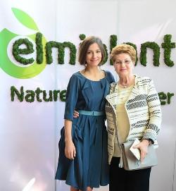 Elena Cremenescu si Dana Rogoz, eveniment Elmiplant, Martie 2016