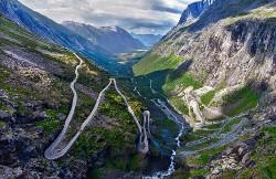 Drumul Trolilor din Norvegia