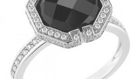 Bijuterii cu diamante negre