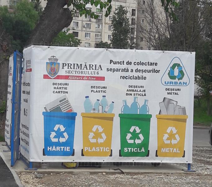 Punct de reciclare selectiva