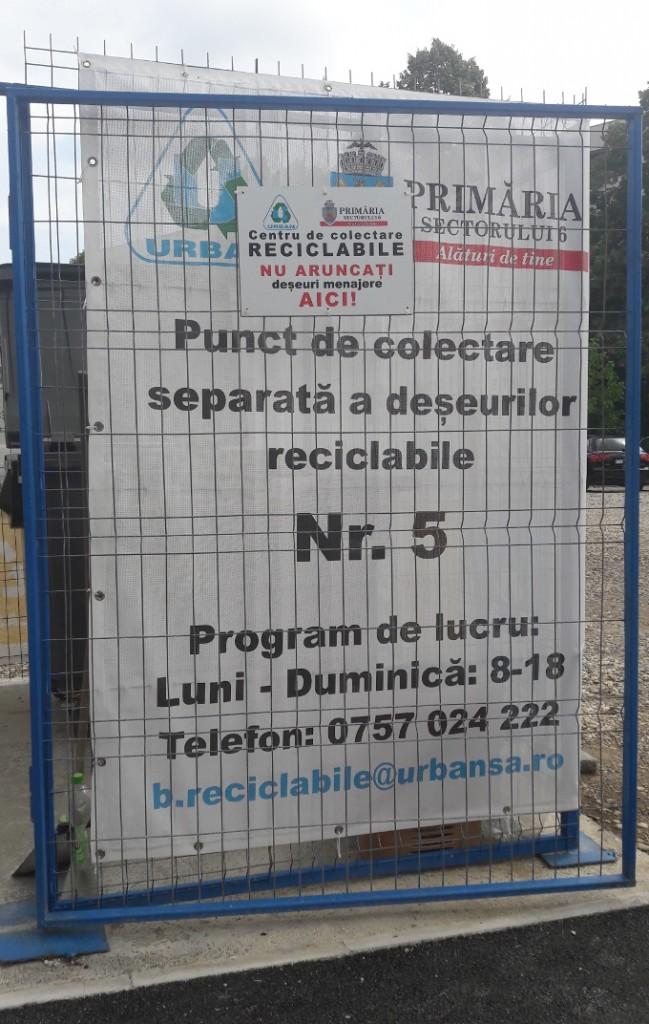 Unde reciclez in Bucuresti
