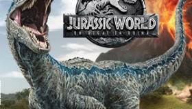 Colectie cartonase cu dinozauri Jurassic World