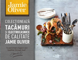 Campanie tacamuri si electrocasnice marca Jamie Oliver la Mega Image (2018)