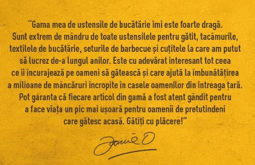 Colectie Jamie Oliver pentru bucatarie