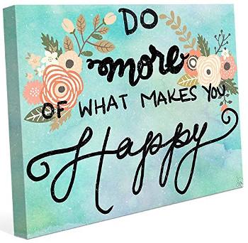 Fa mai mult din ceea ce te face ferict