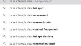 google search - CE SE INTAMPLA DACA