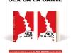 Promo cartea SEX CA LA CARTE impreuna cu Unica de Iulie