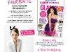 Din sumarul editiei de August 2011 a revistei Glamour Romania