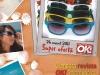 Promo cadourile revistei OK! Magazine Romania: ochelari cu rame colorate (5 variante) ~~ Pret: 15 lei ~~ editia din 26 August 2011