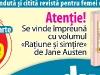 RATIUNE SI SIMTIRE, Jane Austen ~~ impreuna cu Click! pentru femei ~~ 7 Octombrie 2011 ~~ Pret: 10 lei
