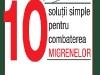 Cartea 10 SOLUTII PENTRU COMBATEREA MIGRENELOR, de Dr. Dawn A. Marcus ~~ impreuna cu Lumea Femeilor ~~ 7 Decembrie 2011 ~~ Pret: 10 lei
