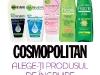 Promo cadouri Garnier pentru ingrijirea personala ~~ impreuna cu revista Cosmopolitan, editia Februarie 2012 ~~ Pret: 11,90 lei