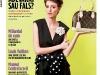 Shopping Report ~~ Cover story: Adevarat sau fals? ~~ Cover girl: Măriuca Teiu ~~ Februarie 2012