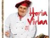 DVD-ul GATESTE CU HORIA VIRLAN ~~ impreuna cu Libertatea pentru femei RETETE ~~ Aprilie 2012 ~~ Pret: 6 lei
