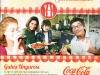 Practic in bucatarie aduce 8 suporturi pentru pahare sponsorizate de Coca-Cola