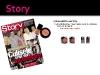Set fard de obraz si lac de unghii de la Randiance Cosmetice ~~ impreuna cu revista Story din 8 Iun 2012 ~~ Pret: 7 lei