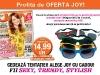 Promo Joy si cadou ochelari de soare cu rame colorate ~~ Iulie 2012 ~~ Pret: 15 lei