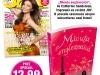 Promo JOY editia August 2012 ~~ Cover girl: Miranda Kerr ~~ Cadou: romanul MICUTA ENGLEZOAICA, de Catherine Sanderson ~~ Pret revista+carte: 13 lei