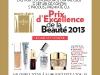 Marie Claire Romania ~~ Concurs PRIX D´EXCELLENCE DE LA BEAUTE 2013
