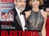 OK! Magazine Romania ~~ Coperta: George Clooney si Stacey Keibler ~~ 19 Aprilie 2013